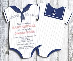 baby boy baby shower invitations t shirt baby shower invitations 8874
