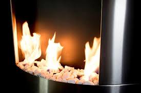 diamond i wall mounted bio ethanol fireplace