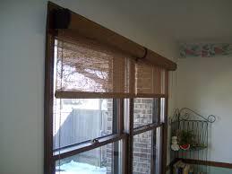Solar Shades For Patio Doors Woven Wood Solar Shades With Cassettes Solar Shades Pinterest