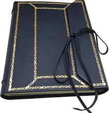 Leather Picture Album Leather Photo Album Sforza Conti Borbone Bookbinder Milan Italy