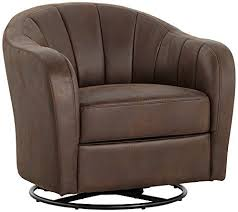 Upholstered Swivel Living Room Chairs Amazoncom - Upholstered swivel living room chairs