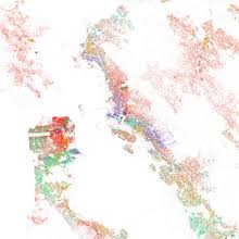 san jose ethnicity map demographics of san francisco
