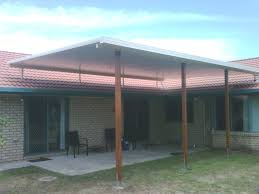 modern one story house design with brick wall come cool large