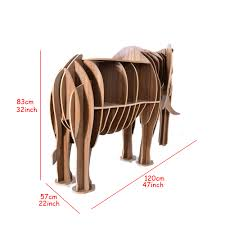 aliexpress com buy high end diy wood desk elephant storage table