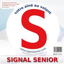 prevention routiere siege auto 1 disque de prévention routière autocollant pour senior norauto fr