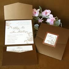 Wedding Invitation Pocket Envelopes Folders Eman Printing