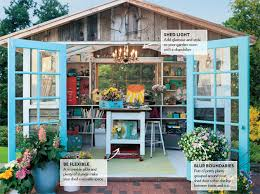 pretty shed turn your shed into a room modern gardens magazine