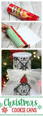 christmas cookie cans christmas cookies holidays and craft