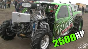 mega truck chassis 2500 hp never satisfied mud truck youtube
