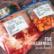 31 freezer prep sessions that will change your life u2013 new leaf