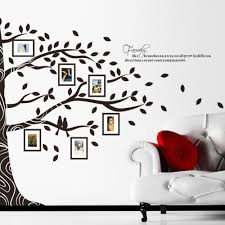 picture frame stickers gallery crafts and frames ideas 16 family tree photo wall decal family tree vinyl wall decal family tree photo wall decal