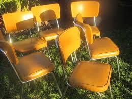 Yellow Retro Kitchen Chairs - 77 best