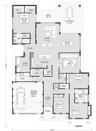 Home Design Floor Plans Single Storey Home Designs Perth Pindan Homes