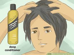 boys who wear long hair and nails how to grow long hair as a guy with pictures wikihow