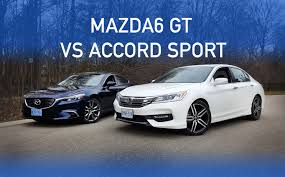 mazda 1 2016 review 2016 mazda 6 gt vs 2016 accord sport part 1 youtube