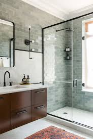 glass tile bathroom ideas bathroom subway tile bathroom ideas best future images on