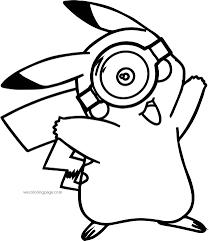 minion pikachu pokemon glass coloring page wecoloringpage