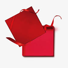 open gift red gift box opened ribbon png and psd file for free