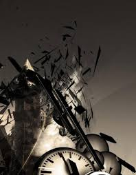 abstract hd shattered clocks town android wallpaper best andro