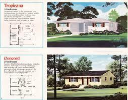 2 bedroom home jim walter homes a peek inside the 1971 catalog sears modern homes