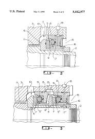 patent us5412977 turbo machine with an axial dry gas seal