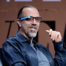 Astro Teller, direttore dei laboratori X di Google dove sono stati sviluppati i Google Glass.