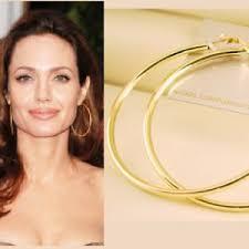 large hoop earrings 2 3 4 70mm gold plated large hoop circle
