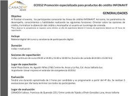 constancias de intereses infonavit 2015 ec0552 promoción especializada para productos de crédito infonavit pdf