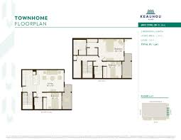 Residence Floor Plans Keauhou Project Floor Plans