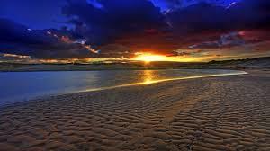 beaches beauty sky sunset beaches pretty desktop