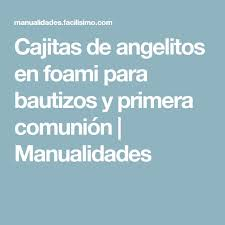 the 25 best angelitos para bautizo manualidades ideas on