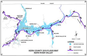 Flood Map Kern River Valley Flood Map Kern News