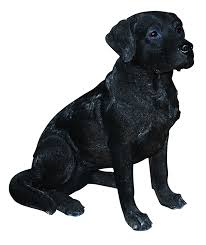 arts xrl blab a labrador resin ornament black