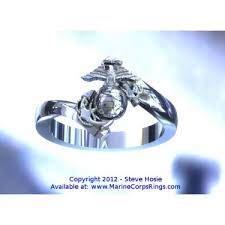beautiful ladies rings images Beautiful gold woman marine corps ring model 3 jpg