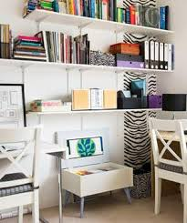 Surprising Home Office Ideas Real Simple - Home office in living room design