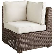 Rattan Settee Echo Beach Latte Build Your Own Sectional Pier 1 Imports