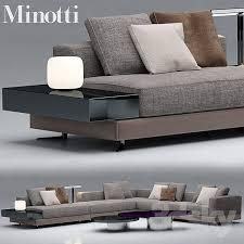 sofa minotti sofa minotti sofas white 3d models free
