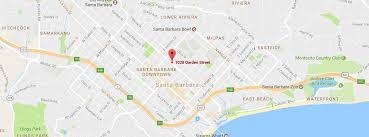Santa Barbara Map Contact Spiritualist Church Of The Comforter Santa Barbara Ca