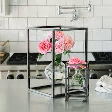 Unique Flower Vases Metal Framed Vase Magnolia Market Chip U0026 Joanna Gaines