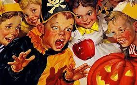 vintage halloween illustrations vintage halloween wallpapers group 54