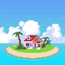 house animated gif oc kame house resubmitted for better quality pixelart