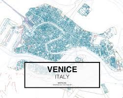 Venice Map Venice Dwg Mapacad