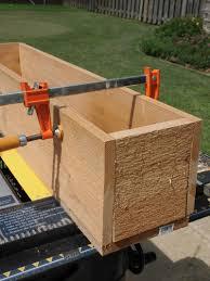 how to build a window flower box how to build a cedar window box planter
