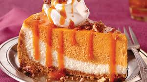 caramel pumpkin cheesecake recipe bettycrocker