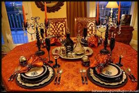 Table Setting Images by 20 Ways To Decorate Your Table For A Halloween Dinner Party