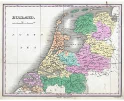 Washington Map With Cities by Maps Of Netherlands Detailed Map Of Netherlands Holland In