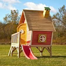 swing n slide hide and slide playhouse hayneedle