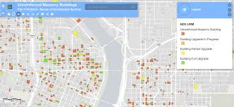 Portland Flooding Map by Map Shows Buildings That May Not Survive Quake In Oregon U0027s Largest