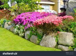 home design for front small flower bed ideas perennial landscape design google search