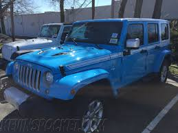 chief jeep wrangler 2017 chief blue chief edition wrangler spotted kevinspocket